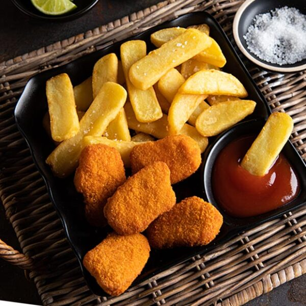 Chicken Nuggets & Chunky Fries