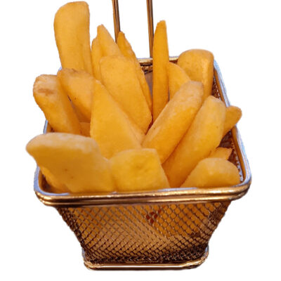 Fries thick cut chuncky chips